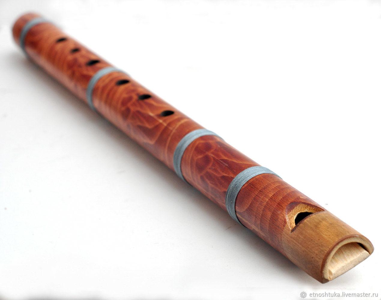 Духовые инструменты ручной работы. Ярмарка Мастеров - ручная работа. Купить Флейта бамбуковая 50 см. Handmade. Флейта дождя