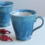 Посуда ручной работы. Ярмарка Мастеров - ручная работа Акварельные кружки. Handmade.