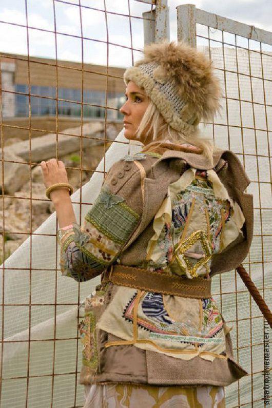 Верхняя одежда ручной работы. Ярмарка Мастеров - ручная работа. Купить куртка ГЕНИАЛЬНАЯ. Handmade. Разноцветный, бохо стиль