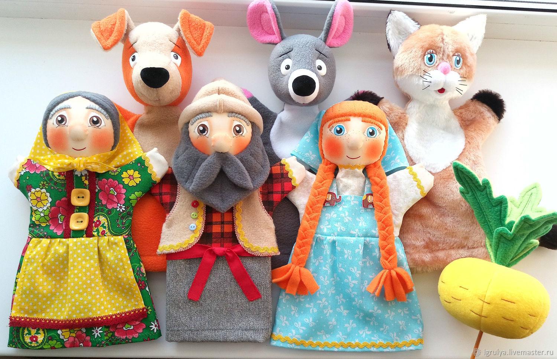 Кукла для кукольного театра своими руками мастер класс найдете