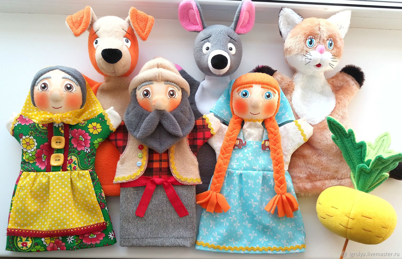 Театральные куклы на руку картинки