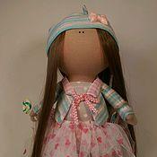 """Куклы и игрушки ручной работы. Ярмарка Мастеров - ручная работа Текстильная кукла """"Мятный леденец"""". Handmade."""