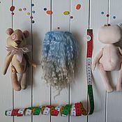 Материалы для творчества ручной работы. Ярмарка Мастеров - ручная работа Волосы для куклы(трессы для кукол). Handmade.