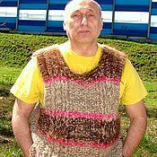 Vests handmade. Livemaster - original item Sleeveless jacket