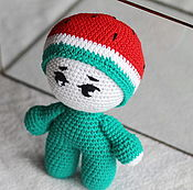 Куклы и игрушки handmade. Livemaster - original item Doll - melon. Handmade.