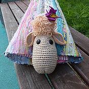 """Для дома и интерьера ручной работы. Ярмарка Мастеров - ручная работа Детская подушка-""""Овечка"""". Handmade."""