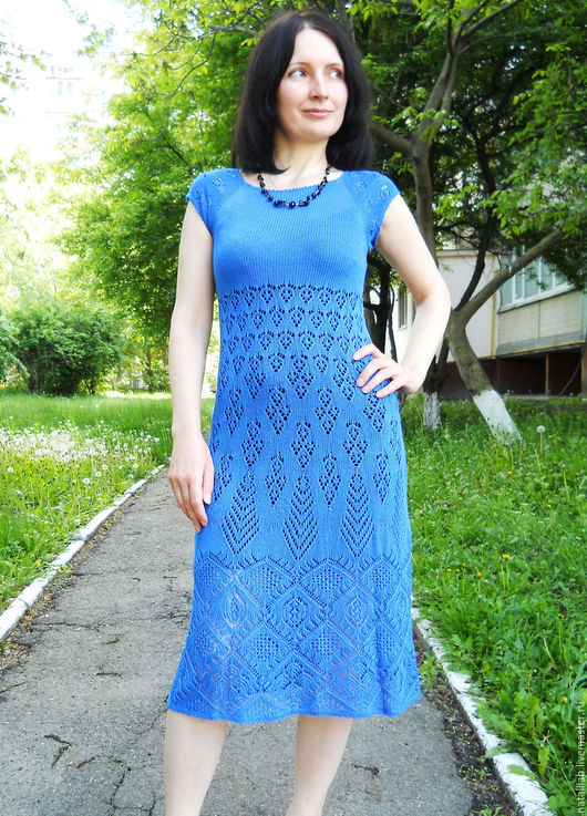 """Платья ручной работы. Ярмарка Мастеров - ручная работа. Купить Платье """"Синяя птица счастья"""". Handmade. Синий, платье, нарядное"""