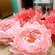 Аксессуары для фотосессий ручной работы. Роскошные цветы из итальянской бумаги. VJFK FLOWER. Ярмарка Мастеров. Бумажные цветы