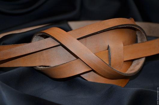 Пояса, ремни ручной работы. Ярмарка Мастеров - ручная работа. Купить Ремень кожаный. Handmade. Бежевый, ремень, ремень кожаный
