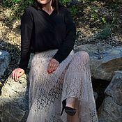 Одежда handmade. Livemaster - original item Skirt made of kid-mohair with silk. Handmade.