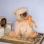 Мишки Тедди ручной работы. Ярмарка Мастеров - ручная работа Персик мишка тедди. Handmade.