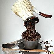Подарки к праздникам ручной работы. Ярмарка Мастеров - ручная работа Кофе в турке. Handmade.