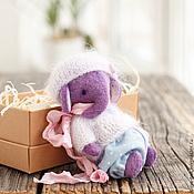 Куклы и игрушки ручной работы. Ярмарка Мастеров - ручная работа Слоник тедди  Фанни. Handmade.