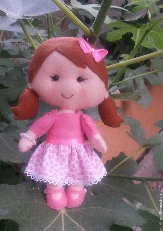 Человечки ручной работы. Ярмарка Мастеров - ручная работа. Купить Куколки из фетра. Handmade. Комбинированный, фетр листовой, бусины