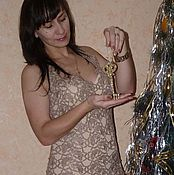 Одежда ручной работы. Ярмарка Мастеров - ручная работа Платье Вечернее золото и корректирующее платье в подарок.. Handmade.