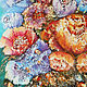 Order Colorful Summer a bouquet of flowers, painting flowers painting flower. Art Gallery by Natalya Zhdanova. Livemaster. . Pictures Фото №3