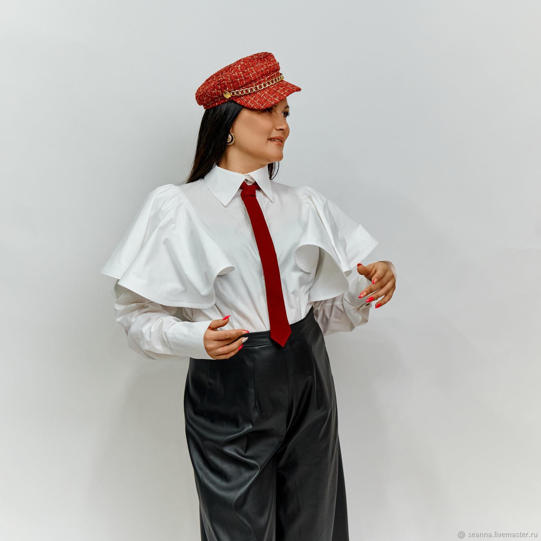 Тренд: галстук женский в мужском стиле Бордо, Галстуки, Воронеж,  Фото №1