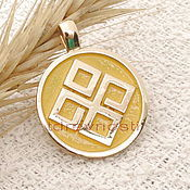 Фен-шуй и эзотерика handmade. Livemaster - original item Dazhbog Slavic charms charms enamel. Handmade.