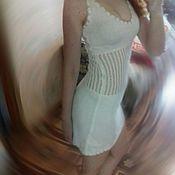 Одежда ручной работы. Ярмарка Мастеров - ручная работа Красивое вязанное платье. Handmade.