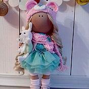 Куклы и игрушки ручной работы. Ярмарка Мастеров - ручная работа Интерьерная текстильная кукла большеножка Мишутка. Handmade.