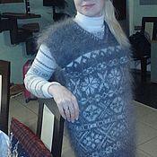 Одежда ручной работы. Ярмарка Мастеров - ручная работа Жилетка из козьего пуха -ПОДАРОЧНАЯ. Handmade.
