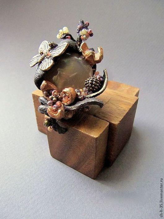 """Кольца ручной работы. Ярмарка Мастеров - ручная работа. Купить Кольцо """"Предчувствие весны"""". Handmade. Кольцо из кожи, кожаное украшение"""