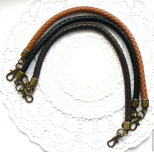 Другие виды рукоделия ручной работы. Ярмарка Мастеров - ручная работа. Купить Плетёная ручка для сумки,3 цвета. Handmade.