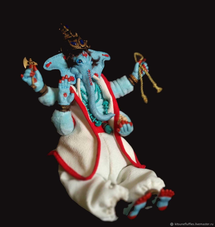 Ganesha, Indian god of wisdom, poseable art doll – shop online on  Livemaster with shipping - J5C48COM | Ryazan