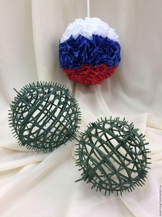Топиарии ручной работы. Ярмарка Мастеров - ручная работа. Купить Заготовка для цветочного шара, d  15 см. Handmade.