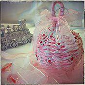 """Подарки к праздникам ручной работы. Ярмарка Мастеров - ручная работа Ёлочный шар """"Заснеженный"""". Handmade."""