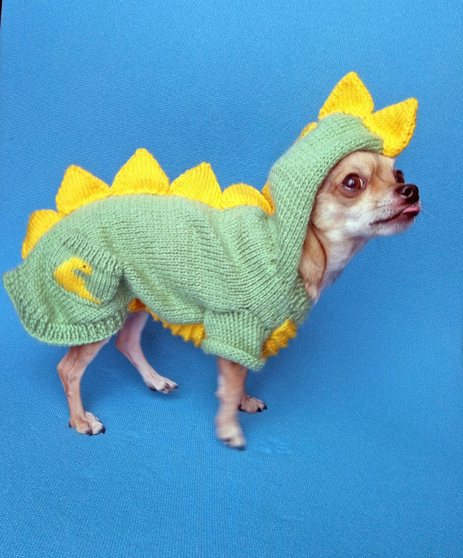 """Свитер для маленькой собачки """"Динозаврик"""". Ручная работа, Одежда для питомцев, Волжский,  Фото №1"""