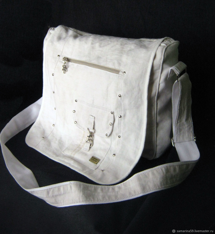 Большая сумка-мессенджер на плечо спортивная универсальная, Спортивная сумка, Геленджик,  Фото №1