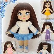 Материалы для творчества handmade. Livemaster - original item Master class on knitting dolls Alena outfits (EN ENG). Handmade.