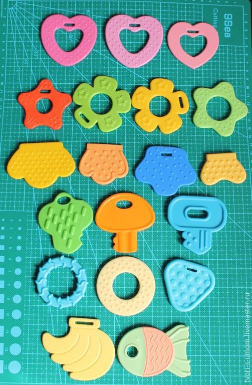 Развивающие игрушки ручной работы. Ярмарка Мастеров - ручная работа. Купить Зубо - прорезыватель, основа, грызунок. Handmade. Для шитья