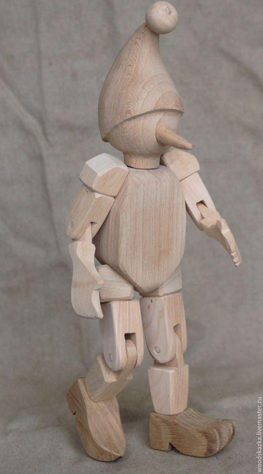 Сказочные персонажи ручной работы. Ярмарка Мастеров - ручная работа. Купить Буратино. Handmade. Деревянная игрушка, подарок