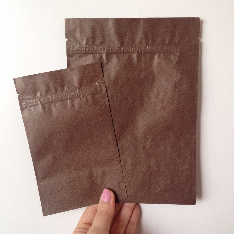 Зиплок пакет шоколадный, два размера – заказать на Ярмарке ...