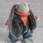 Куклы и игрушки ручной работы. Ярмарка Мастеров - ручная работа Заяц-Волк. Handmade.