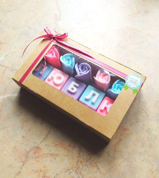 """Подарочные наборы косметики ручной работы. Ярмарка Мастеров - ручная работа. Купить Подарочный набор мыла """"День Матери"""". Handmade."""