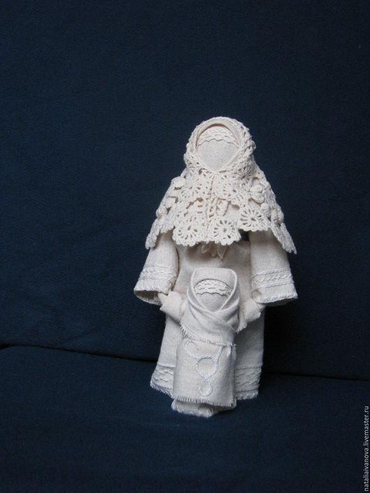 Народные куклы ручной работы. Ярмарка Мастеров - ручная работа. Купить Ведучка. Handmade. Белый, материнство