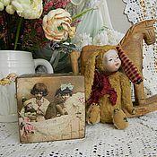 """Для дома и интерьера ручной работы. Ярмарка Мастеров - ручная работа Интерьерный кубик """"Винтажные фото"""". Handmade."""