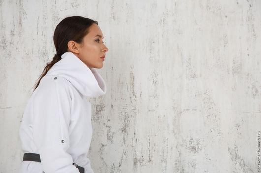 Платья ручной работы. Ярмарка Мастеров - ручная работа. Купить Платье туника белая теплая. Handmade. Белый, туника