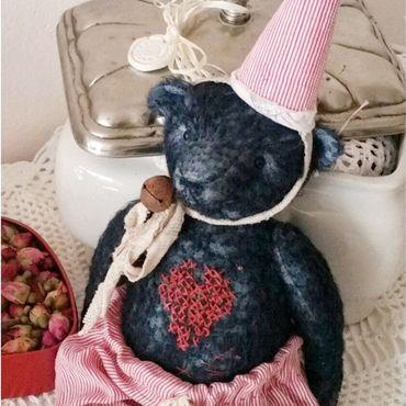 Куклы и игрушки ручной работы. Ярмарка Мастеров - ручная работа Карманный мишка. Handmade.