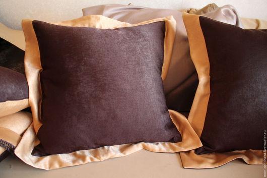 Подушка с Оксфордской наволочкой