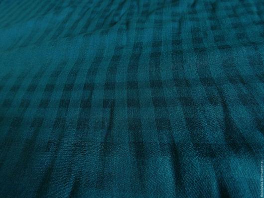 Шитье ручной работы. Ярмарка Мастеров - ручная работа. Купить хлопок марлёвка морская волна. Handmade. Тёмно-бирюзовый