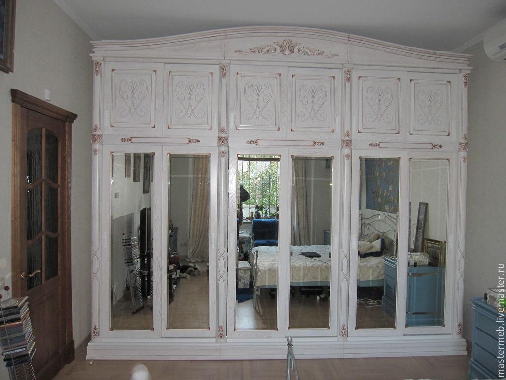 Белый шкаф в интерьере