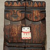 Статуэтки ручной работы. Ярмарка Мастеров - ручная работа талисман семьи из кедра. Handmade.