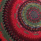 """Для дома и интерьера ручной работы. Ярмарка Мастеров - ручная работа Текстильный ковер """"Дерёвня"""" (зарезервирован). Handmade."""