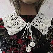 Аксессуары handmade. Livemaster - original item Knitted collar, cotton.. Handmade.