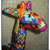 Для дома и интерьера ручной работы. Ярмарка Мастеров - ручная работа Жирафа позитивная большая). Handmade.