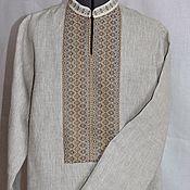 Русский стиль ручной работы. Ярмарка Мастеров - ручная работа Рубаха из ткани Ладушка. Handmade.